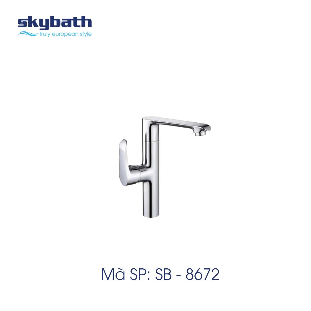 Vòi bếp mã SB-8672