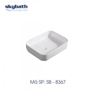 Chậu rửa mặt đặt bàn mã SB-8367